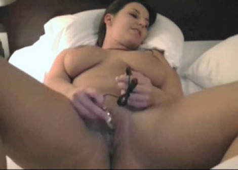 Lexxxi plays with her vibrator